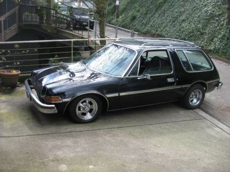 1977 AMC Pacer wagon left front