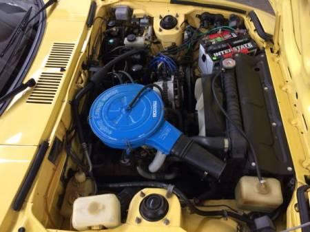 1978 Mazda RX-7 engine