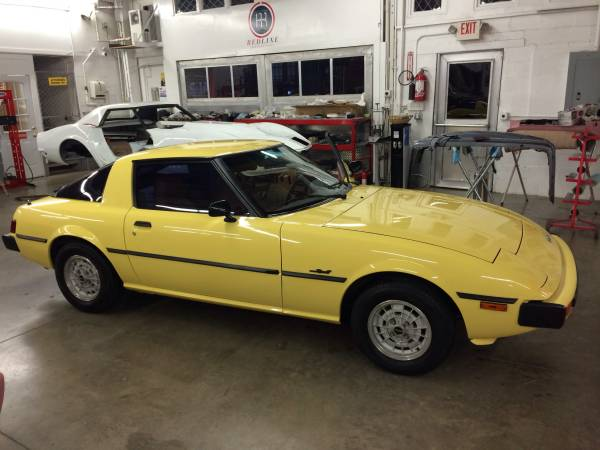 rotary pair 1978 mazda rx 7 plus bonus 1979 rx 7 rusty but trusty. Black Bedroom Furniture Sets. Home Design Ideas