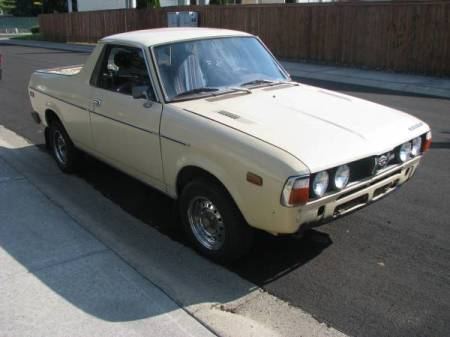 1978 Subaru BRAT right front