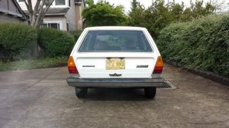1980 Volkswagen Dasher wagon rear
