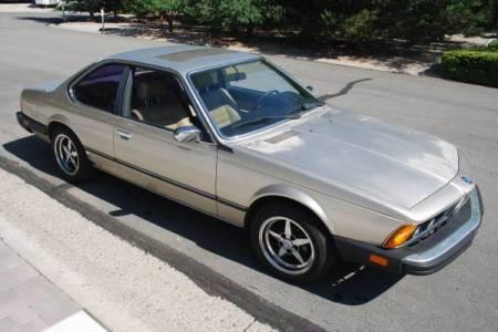 1984 BMW 633CSi right front