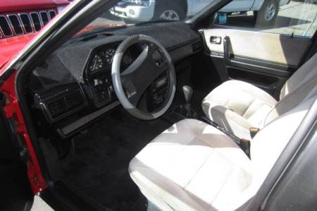 1987 Audi 5000 Turbo Quattro interior