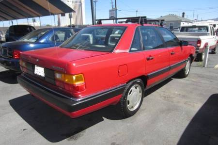 1987 Audi 5000 Turbo Quattro right rear