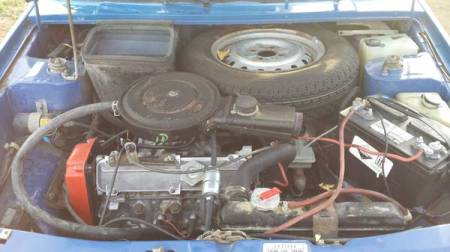 1987 Yugo GV engine