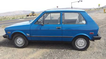 1987 Yugo GV left side