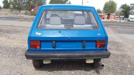 1987 Yugo GV rear
