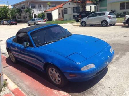 1990 Mazda Miata right front