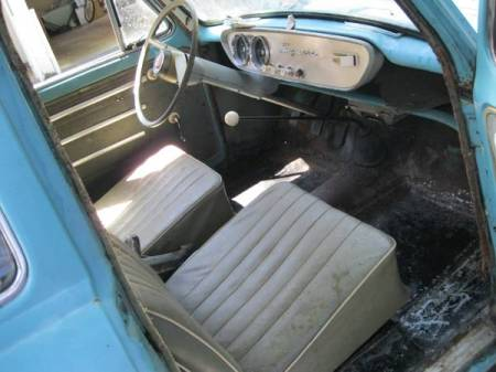 1958 Ford Prefect Squire interior