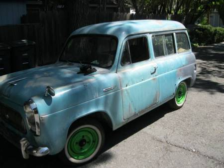1958 Ford Prefect Squire left front