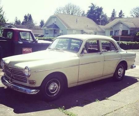 1967 Volvo 122S left front