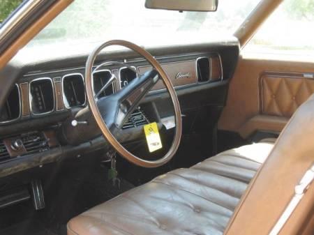 1969 Lincoln Continental Mark III interior