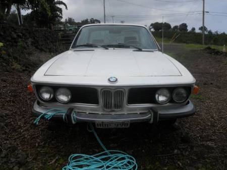 1971 BMW 2800CS front