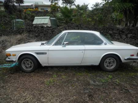 1971 BMW 2800CS left side