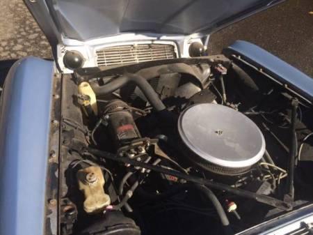 1972 Jaguar XJ6 engine