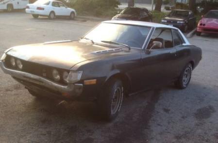 1972 Toyota Celica left front