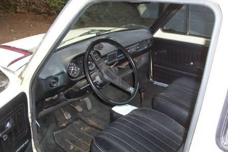 1976 Fiat 128 pickup interior