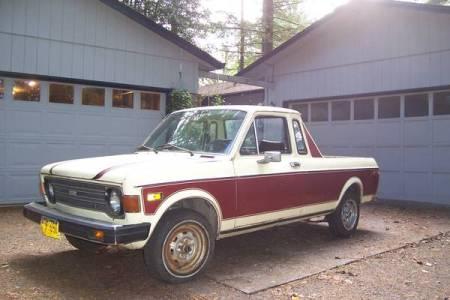 1976 Fiat 128 pickup left front