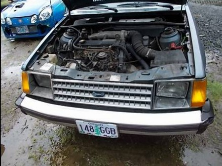 1984 Ford Escort Diesel engine