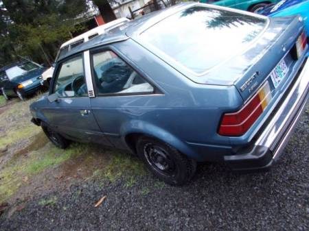 1984 Ford Escort Diesel left rear