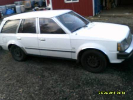 1984 Mercury Lynx Diesel right front