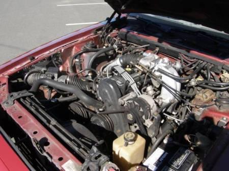 1986 Ford Thunderbird Turbo engine