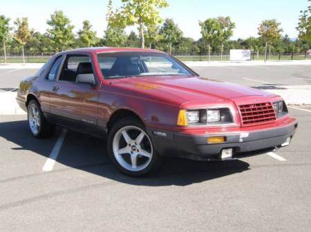 1986 Ford Thunderbird Turbo right front