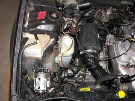 1986 Mitsubishi Mirage Turbo engine