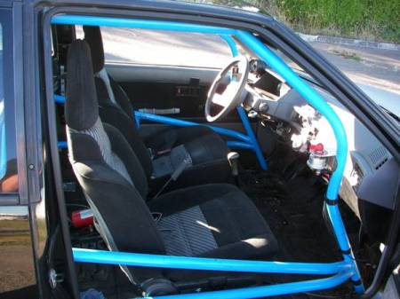 1986 Mitsubishi Mirage Turbo interior