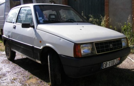 1987 Autobianchi Y10 right front