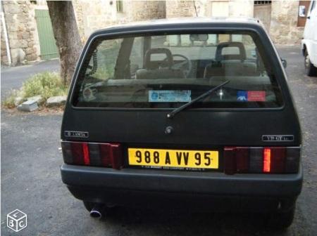 1992 Lancia Y10 GT rear