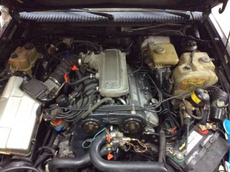 1988 Alfa Romeo Milano Verde engine