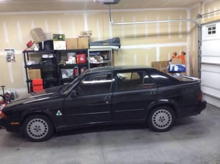 1988 Alfa Romeo Milano Verde left