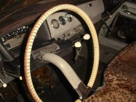 1961 Citroen ID19 interior