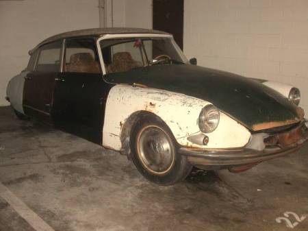 1961 Citroen ID19 right front