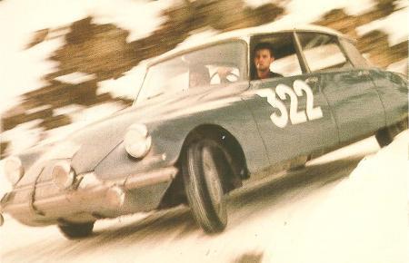 1964 Citroen DS Monte Carlo Rally