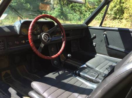 1974 Porsche 914 yellow interior