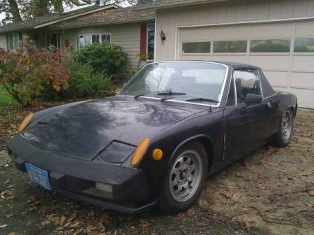 1975 Porsche 914 left front