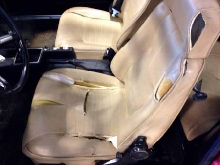 1977 Alfa Romeo Alfetta GT interior