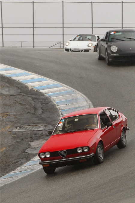 1979 Alfa Romeo Alfetta GT at Laguna Seca corkscrew normal size