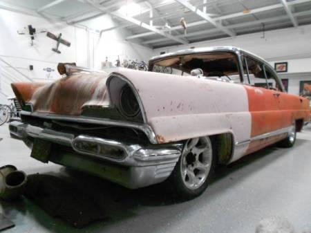 1956 Lincoln Premiere left front