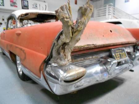 1956 Lincoln Premiere left rear