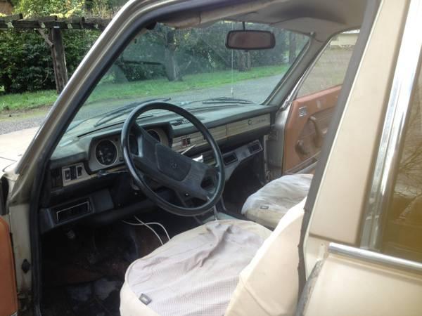 Le Slow 1980 Peugeot 504 Break Diesel Rusty But Trusty