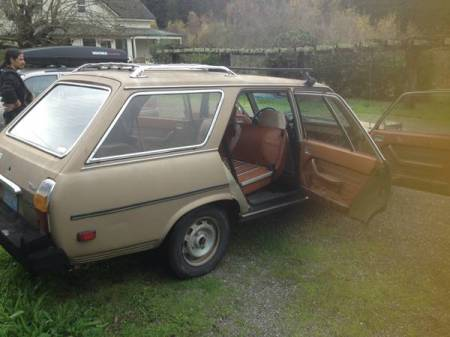1980 Peugeot 504 diesel wagon 2 right rear