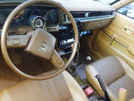 1980 Subaru 1600DL interior