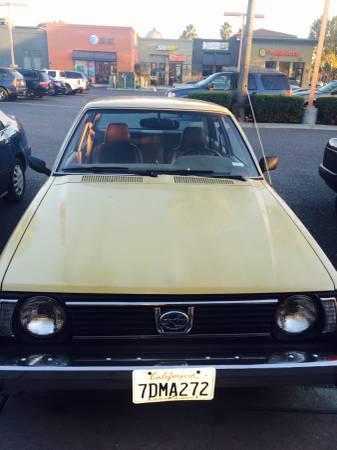 1980 Subaru 1600DL nose