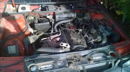 1985 Renault Fuego engine