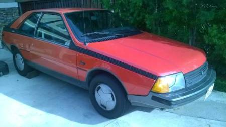 1985 Renault Fuego right front