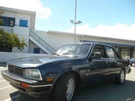 1987 Peugeot 505 STX V6 left front