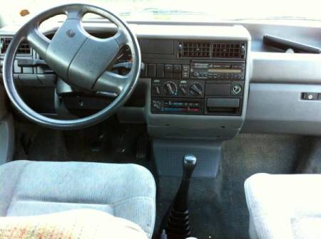 1993 VW Eurovan front interior